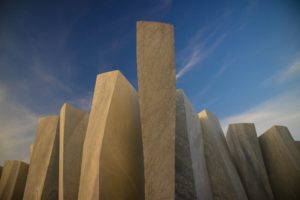 Series of marble blocks